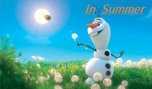 Disney Frozen Olaf Summer